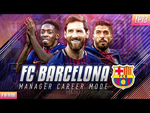FIFA 18 Barcelona Career Mode - EP13 - Transfer Deadline Day!! We Face Real Madrid!!