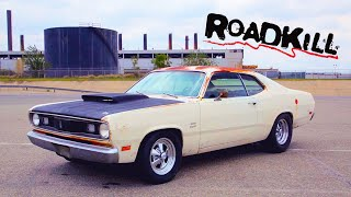 Junk '70 Duster Gets 440 Mopar Engine Swap, Hits Dragstrip! | Roadkill | MotorTrend