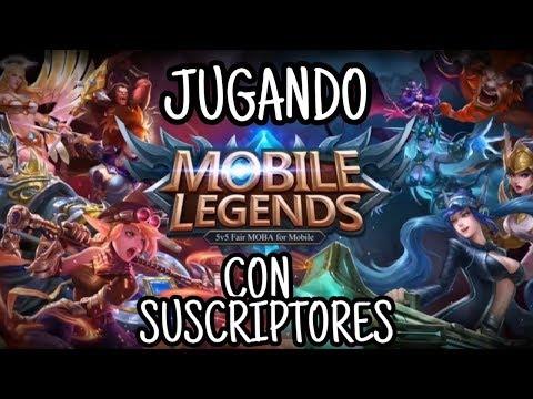 JUGANDO CON SUSCRIPTORES #3 | Mobile Legends Español | PARTE 1