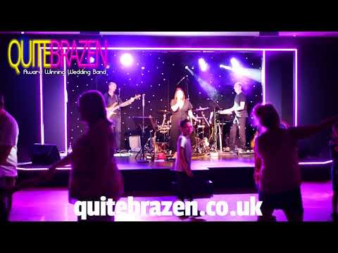 Quite Brazen party band - Hit me baby cover