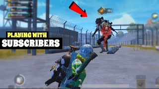"""Playing with Subscribers   PUBG Mobile   """"Sub Contest Round 2"""""""