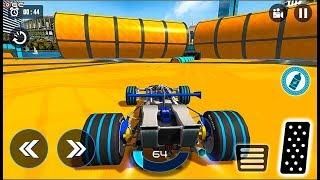 Extreme GT Formula Car Racing Stunts 2020 - Driving a Formula Car on Mega Ramps Android GamePlay #2