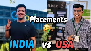 College Placements INDIA vs USA! Most Inspiring Google Journey
