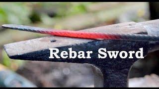 Forging A Rebar Rapier