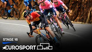 Vuelta a España - Stage 16 Highlights | Cycling | Eurosport