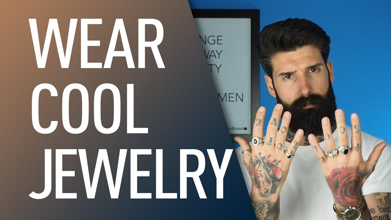 How to Wear Mens Jewelry Carlos Costa YouTube