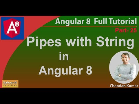 Pipes with string in Angular 8 | Angular 8 Tutorial in Hindi thumbnail