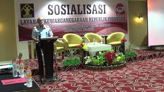 Sosialisasi Layanan Kewarganegaraan Republik Indonesia