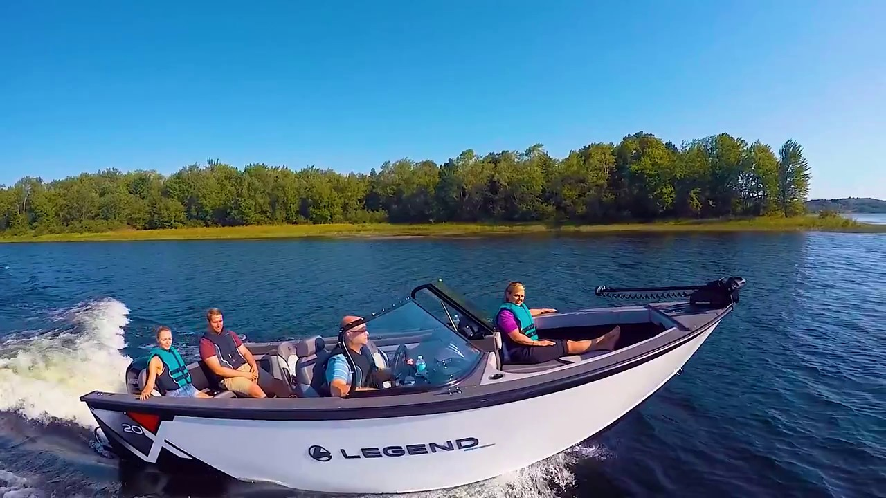 Best Fish And Ski Boats >> 2017 Top Fish And Ski Boats By Legend Boats X20 Youtube