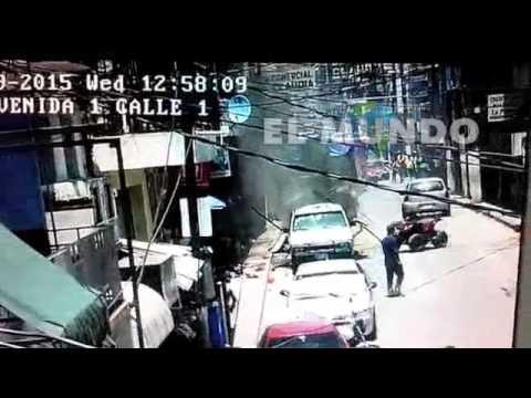 Pánico por explosión en Huatusco