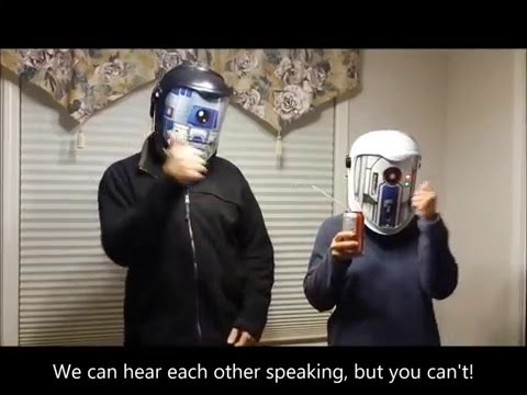 Awesome DIY Star Wars Helmets Translate Your Voice To Droid In Real Time (video)
