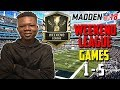99 OVERALL PLAYERS GAME-PLAY 🔥❗ 99 CHRIS JOHNSON BALLING OUT   MADDEN 18 WEEKEND LEAGUE GAME-PLAY🏈
