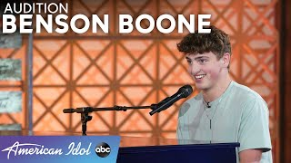 SWOON Over Benson Boone And His Dreamy Vocals - American Idol 2021