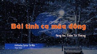 Bài tình ca mùa đông (Tango guitar) - Anhbaduy Guitar Cà Mau