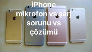 iPhone Mikrofon vs Şarj  Sorunu ve Çözümü İncelemesi