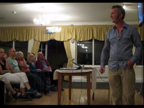 PATRICK LYNCH. CHEMTRAILS / GEOENGINEERING of OUR SKIES. New World Order Agenda. Penzance 2013. 1/2