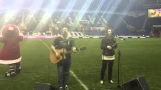 Gavin Hayes and Leanne Thorose - Fairytale of New York live - London Irish 12/12/2015