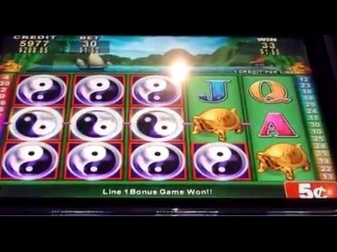 LONG VERSION 36 mins on 5 cent China Shore slot machine