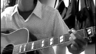 山崎さんの「あじさい」 古い曲ですが、好きな曲です。 1カポです。