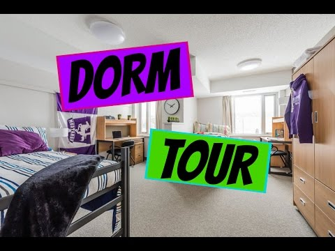 Dorm Room Tour - What to Expect When You Move In!
