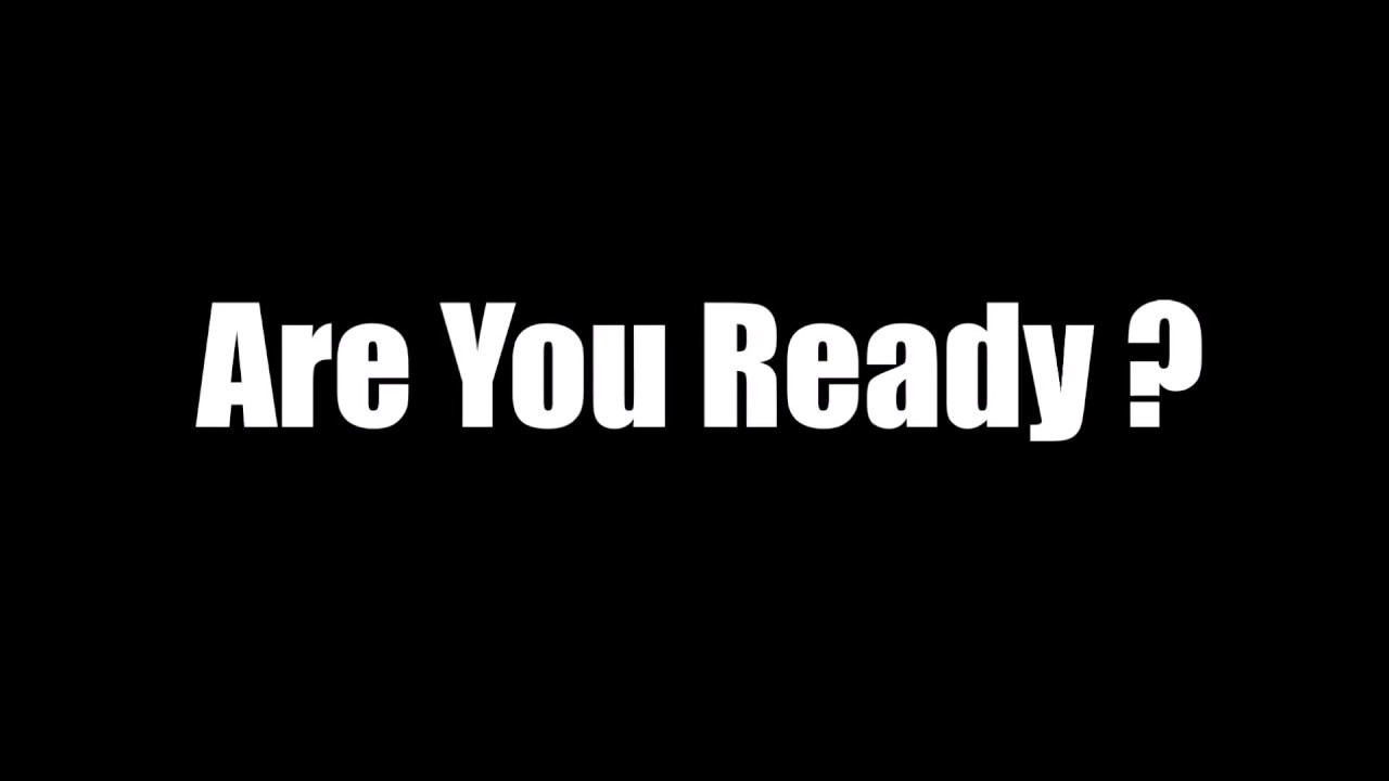 Kinder Garden: Are You Ready Lyrics