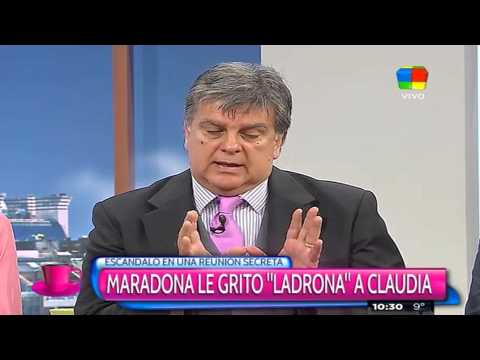 La tremenda amenaza de Gianinna a Diego Maradona