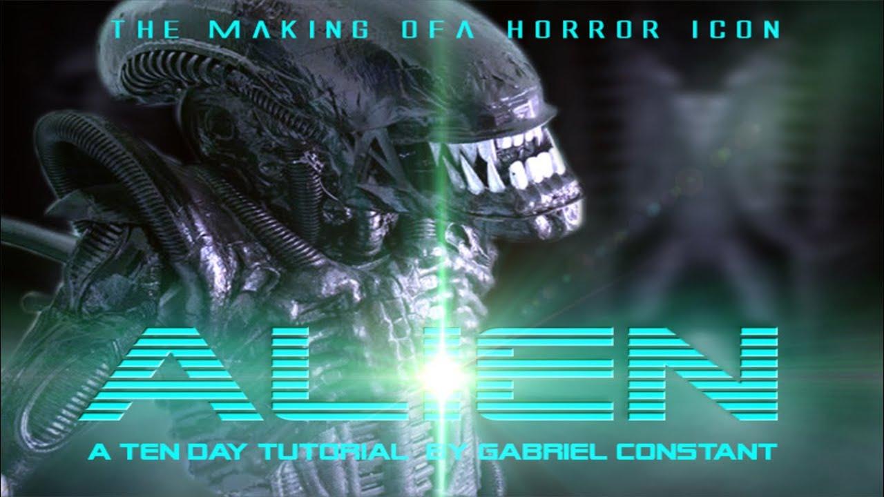 & Alien xenomorph Full Costume tutorial with animatronics - YouTube