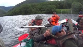 Сплав по реке Быстрая - Камчатка 2015