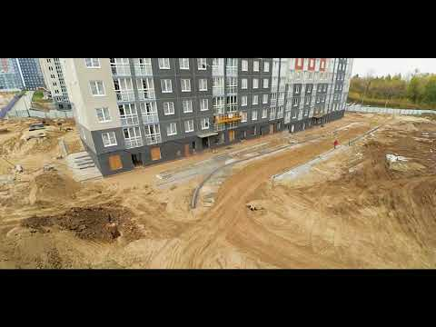Анкудиновский Парк  стройка и опять с квадрокоптера