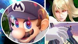 Super Smash Bros Ultimate New Trailer Shows Gameplay, Bosses, Adventure Mode: World of Light & More