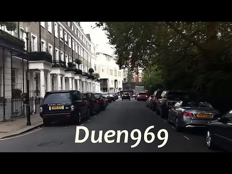 London Streets (549.) - Lambeth - Pimlico - Sloane Square - South Kensington - Knightsbridge