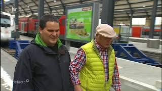 Hauptbahnhof Wiesbaden oder wie die Deutsche Bahn blinden Reisenden das Leben schwer macht