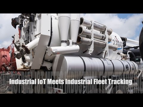 Industrial IoT Sensor Monitoring + Fleet Vehicle Tracking with Assets like Pumps, Vacuums, & Tanks