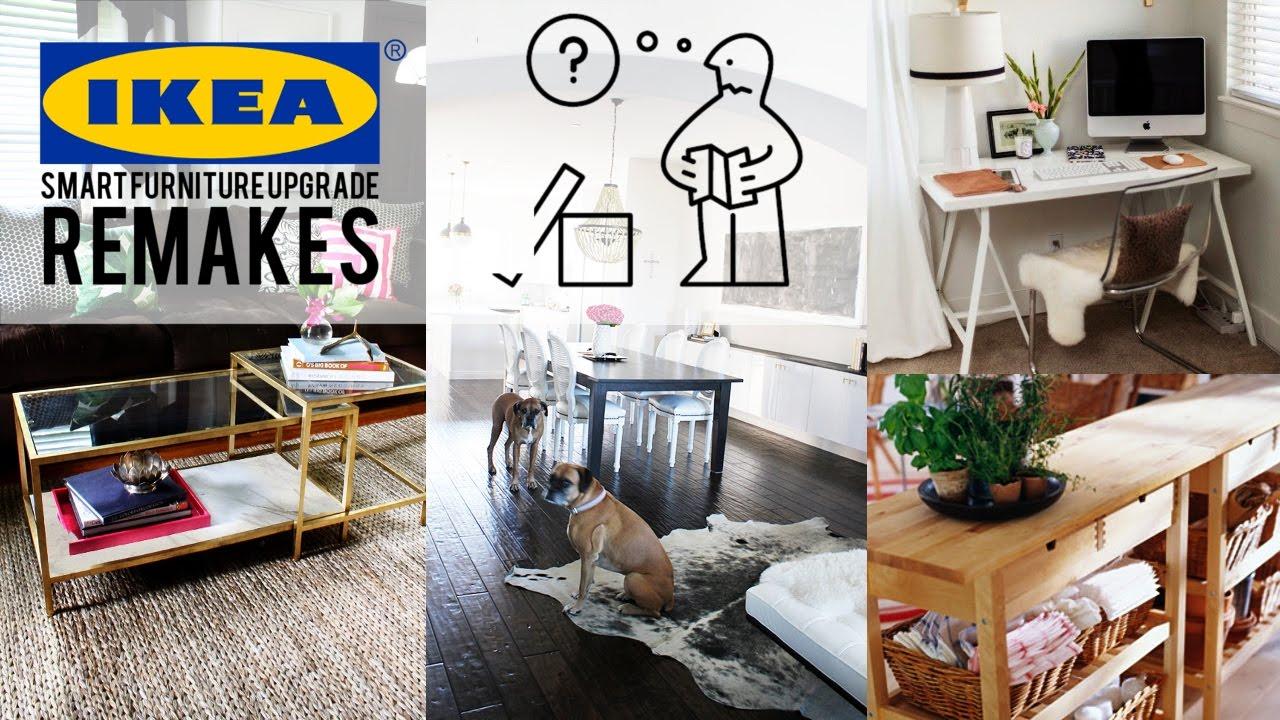 37 Ikea Furniture Upgrade Remake   YouTube