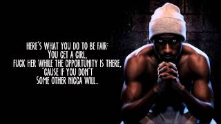 Hopsin || Good Guys Get Left Behind || Knock Madness (Lyrics) HD