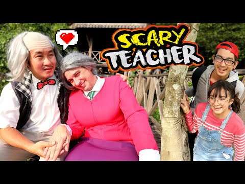 """แกล้ง """"ครูสุดโหด"""" ตอน ครูมีแฟน EP 4 โคตรฮา!  Scary Teacher In Real Life By Brianna"""