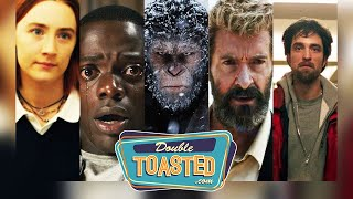 TOP 10 BEST MOVIES OF 2017 PART 1 - Double Toasted Podcast Reviews