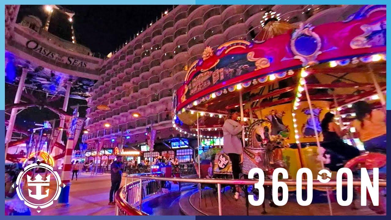 Oasis of the Seas | The Boardwalk in 360º