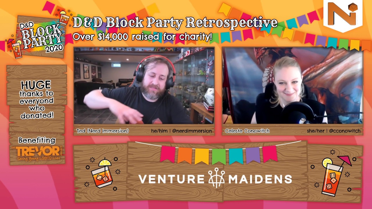 D&D Block Party Retrospective with the Lead Organizer! | Nerd Immersion