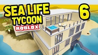BUILDING MY OWN HOUSE - ROBLOX SEA LIFE TYCOON #6