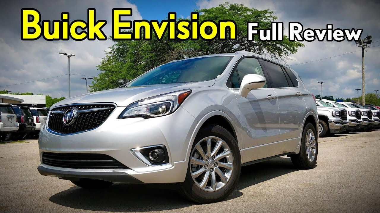 2019 Buick Envision Full Review Modernizing Buick S Midsizer