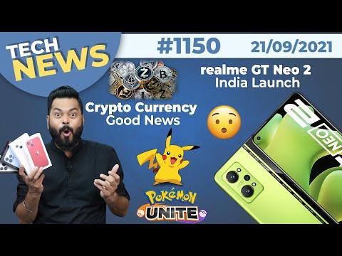 realme GT Neo 2 India Launch, Crypto,OPPO F19s First Look,Pokemon Unite Is Here,Xiaomi Civi-#TTN1150