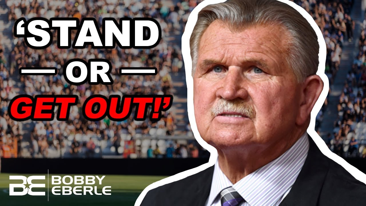 Mike Ditka on national anthem kneeling: 'Get the hell out of my country'