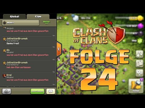 Let's Play CLASH OF CLANS ☆ Folge 24