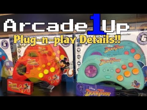 Arcade 1up Plug-n-Play Details!! from DevilDo99 Gaming