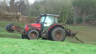 Same Tractors at Umbilical Cord Slurry