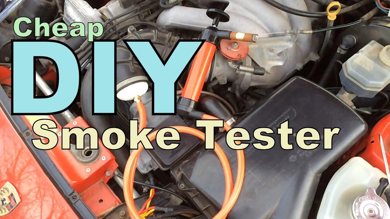 Cheap DIY Smoke Tester - YouTube