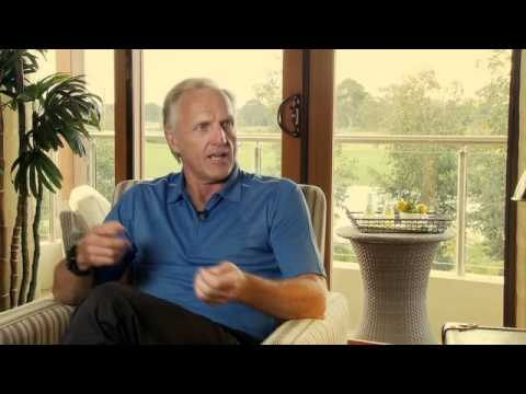 Greg Norman Interview at Stonecutters Ridge 2010