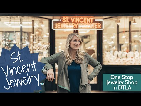 One Stop Shop for Jewelry? St Vincent Jewelry Center in DTLA!