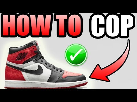 How To Get The JORDAN 1 BRED TOE !   Bred Toe 1 Release Info